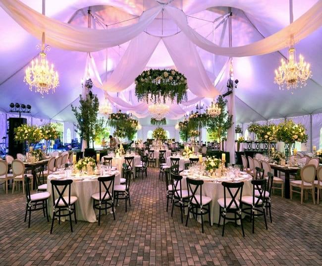 باغ تشریفات لاکچری | لیست بهترین باغ تالارها