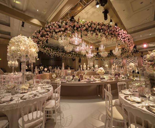 هزینه تالار عروسی | قیمت تالار عروسی