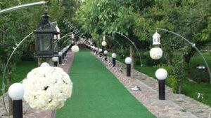باغ تالار لوکس سهیلیه کرج | لوکس ترین باغ تالار عروسی سهیلیه