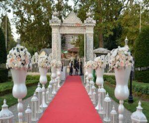 بهترین باغ تالار عروسی گرمدره | لوکس ترین باغ تالار عروسی گرمدره