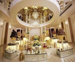 قیمت بهترین باغ تالار عروسی ملارد  قیمت بهترین تالار ملارد  قیمت لوکس ترین الار عروسی ملارد