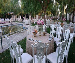 باغ تالار شیک و ارزان اهواز | سالن عروسی با قیمت مناسب اهواز | باغ تشریفات با قیمت مناسب اهواز