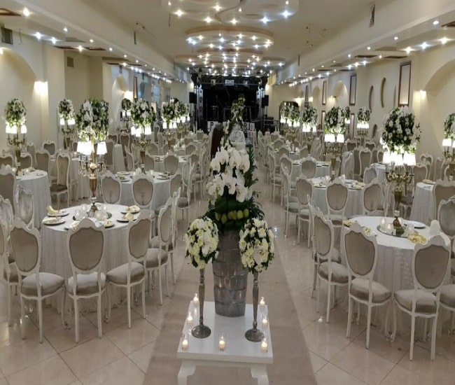لیست باغ تالارهای عروسی در تهرانپارس | لیست قیمت تالارهای تهرانپارس