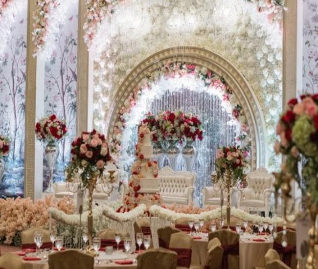 لیست تالارهای عروسی در مرکز تهران | لیست باغ تالارهای عروسی در مرکز تهران