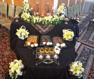 خدمات مراسم عروسی در خانه شیراز | تشریفات مراسم عزا در منزل شیراز | خدمات تشریفات مجالس عروسی در خانه منزل شیراز