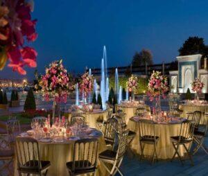 لاکچری ترین باغ عروسی استانبول ترکیه   بهترین سالن پذیرایی عروسی لوکس لاکچری استانبول  باغ تالار لاکچری استانبول ترکیه