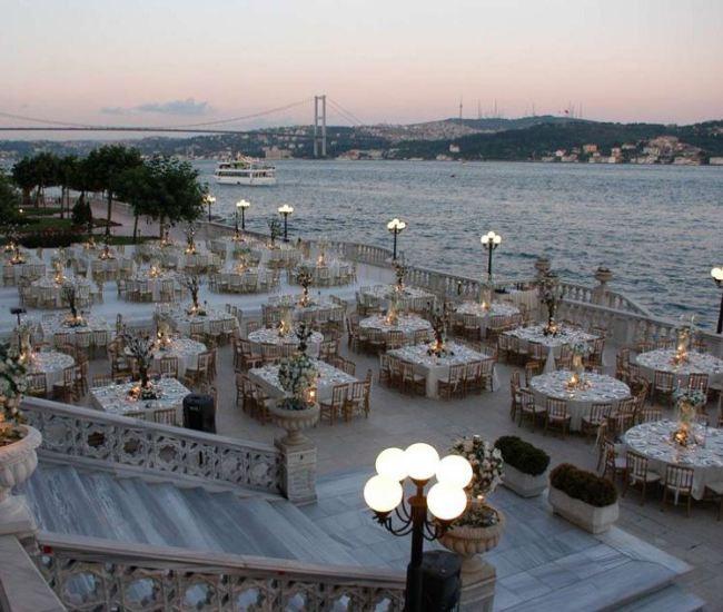 لیست قیمت رزرو اجاره بهترین ارزانترین باغ تالار عروسی استانبول ترکیه