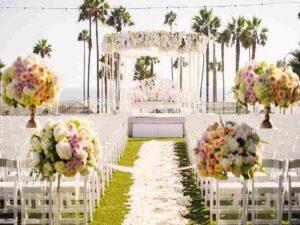 آموزش خدمات گل آرایی مراسم تولد و سالن عروسی و گل کاری ماشین عروس اهواز خوزستان | گل فروشی و گل آرایی اتاق عقد اهواز