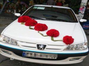 آموزش خدمات گل آرایی یزد اردکان و میبد  | خدمات گل کاری ارزان و گل آرایی ماشین عروس در یزد اردکان میبد