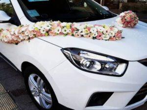 بهترین ارزانترین قیمت گل آرایی و گل کاری ماشین عروس ارومیه توسط بهترین گل فروشی های آذربایجات غربی در محل