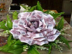 قیمت گل آرایی و گل کاری تالارها و باغ تالارها و مراسم و مجالس عروسی و تولد و تزئین پول برای عروسی و تولد اهواز خوزستان