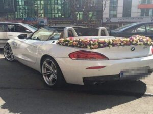 لیست قیمت بهترین ارزانترین گلفروشی های اهواز خوزستان جهت سفارش باکس گل و دسته گل و گل آرایی گل کاری ماشین عروس در محل