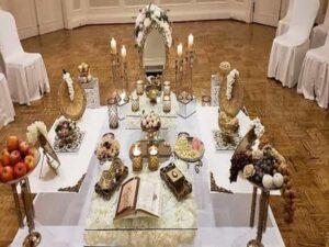 مزون سفره خنچه عقد در شیراز   طراحی و اجرای انواع تم مهمانی تولد و عروسی در شیراز   مزون سفره عقد اتاق عقد شیراز