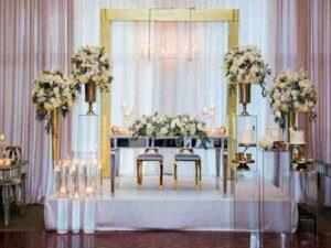 گل آرایی و گل کاری تالارها و باغ تالارهای ارومیه ادربایجان غربی | قیمت گل آرایی مراسم و مجالس عروسی و تولد ارومیه