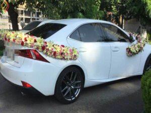 گل آرایی و گل کاری ماشین عروس ارزان قیمت قزوین | جدیدترین مدل های گل کاری و گل آرایی توسط بهترین گل فروشی های قزوین