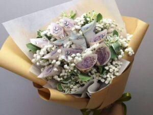 گل آرایی پول برای عروسی و تولد شیراز و تزئین پول برای عروسی و تولد شیراز   گل آرایی پول در شیراز  