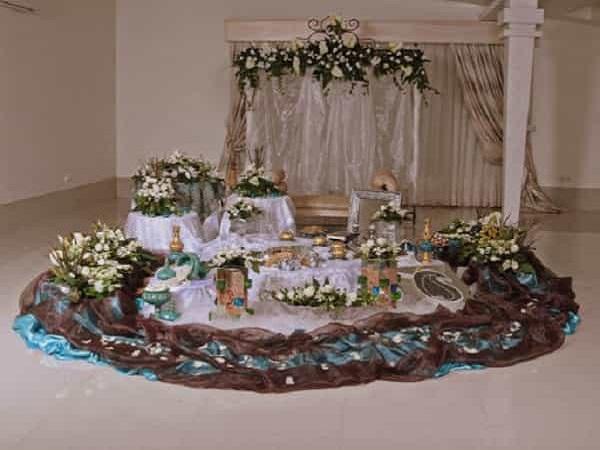 گل فروشی های اهواز خوزستان | گل آرایی گل کارس مراسم مجالس تولد و عروسی و ماشین عروس در اهواز خوزستان | سفره عقد اهواز