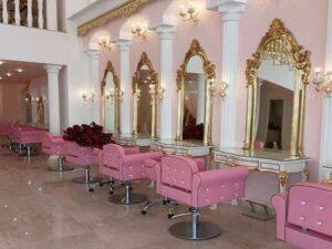 آدرس نشانی شماره تماس تلفن بهترین آرایشگر زن میکاپ کار عروس سالن زیبایی آرایشگاه زنانه گلسار رشت لاهیجان بندرانزلی