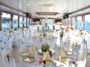 برگزاری مراسم ازدواج عقد نامزدی عروسی درکشتی استانبول ترکیه   خدمات تشریفات مجالس عروسی تولد استانبول