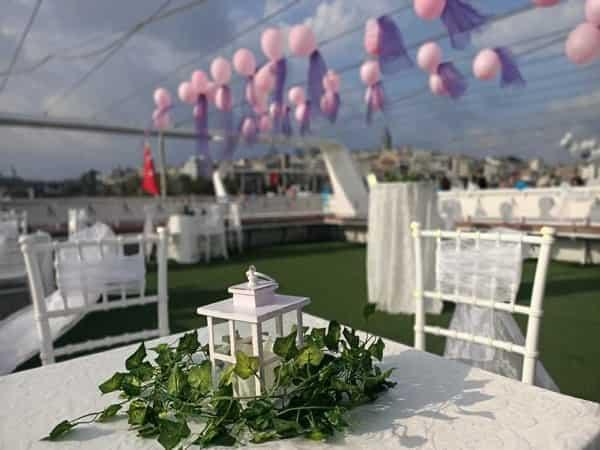 برگزاری مراسم در کشتی استانبول | خدمات مجالس در استانبول
